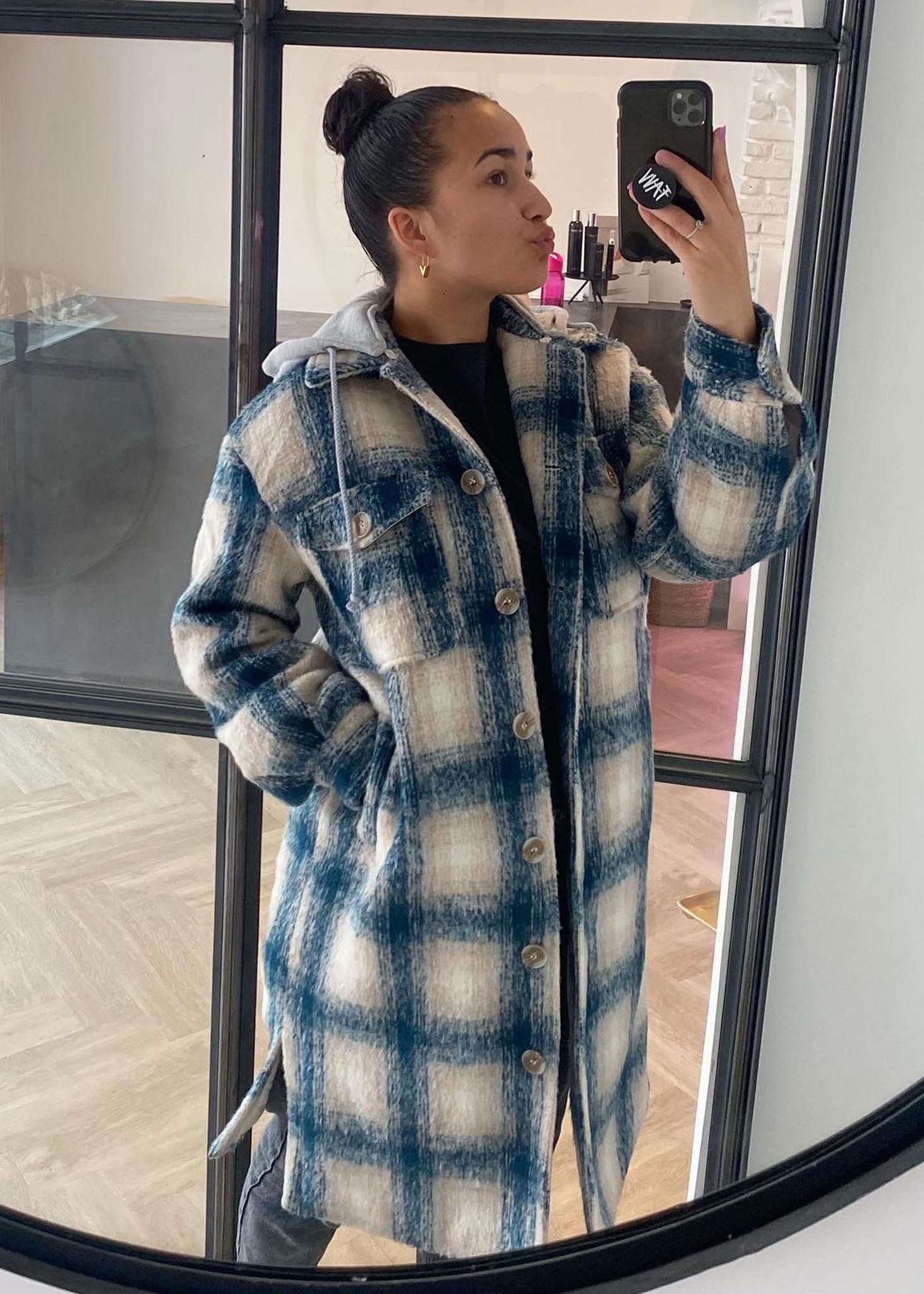 Cherri Jacket Blue/Cream-1