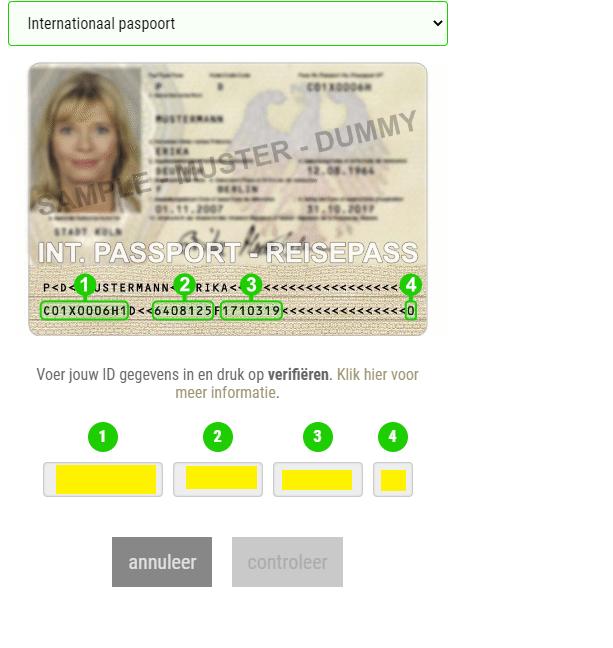 paspoort ID check alcoholische dranken