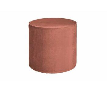 ZENZ roze poef hoog 46xø46