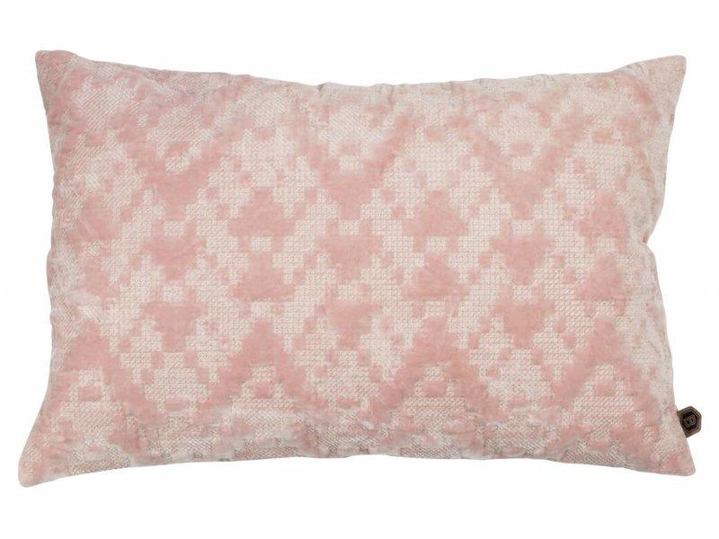 ZENZ Kussen bloesem fluweel 40x60 cm
