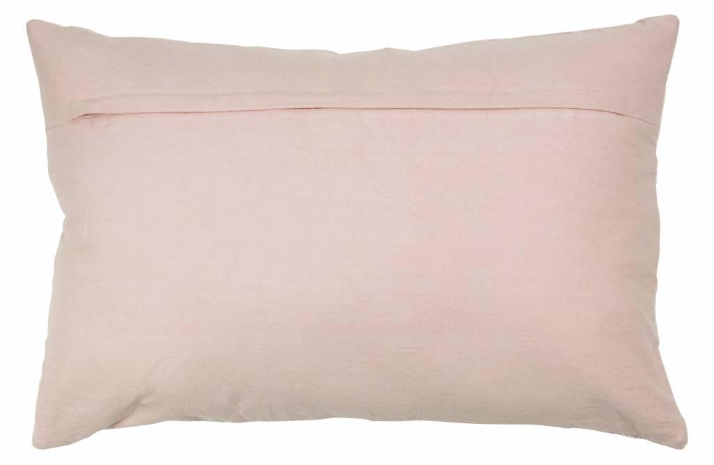 Kussen bloesem fluweel 40x60 cm-2