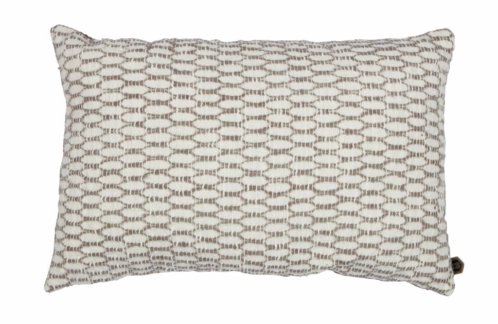 kussen ivoor/klei 40x60 cm-1