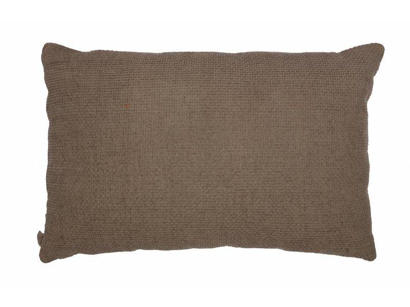 ZENZ kussen ivoor/klei 40x60 cm