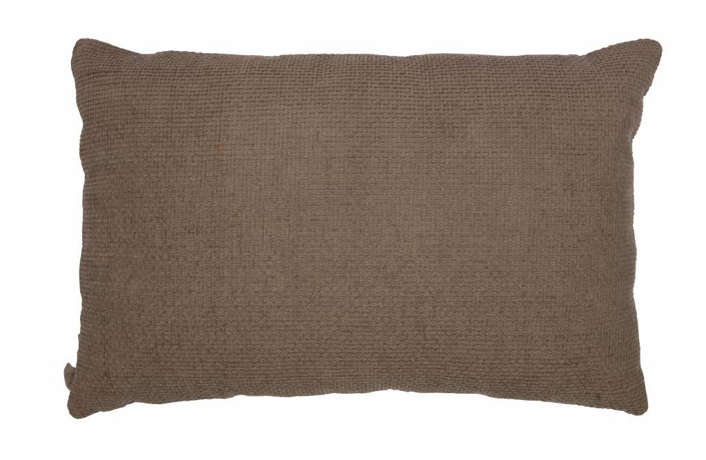 kussen ivoor/klei 40x60 cm-2