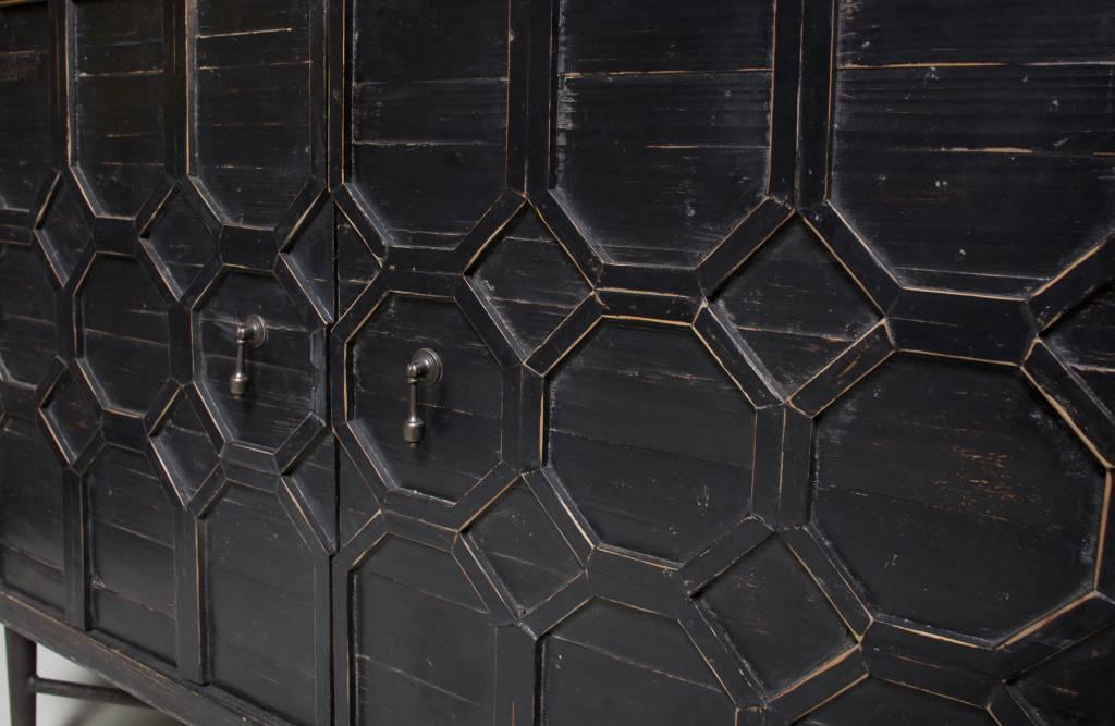 2-deurs kast pattern-6