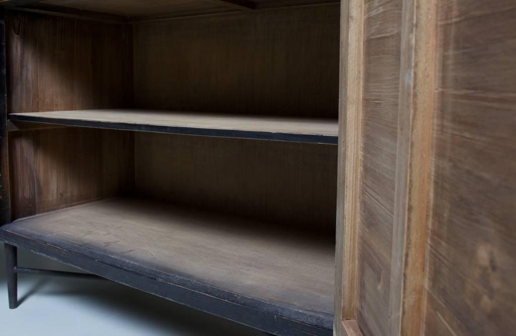 2-deurs kast pattern-7