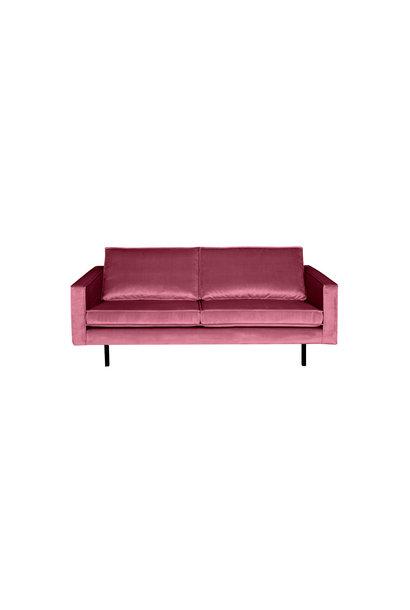 Velvet 2,5-zits bank roze