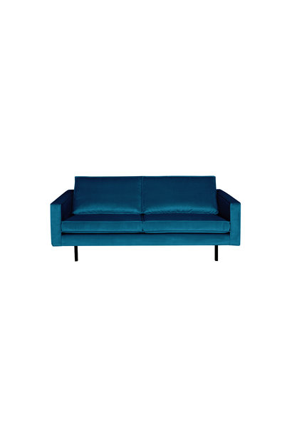 Velvet 2,5-zits bank blue