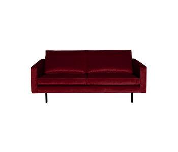 ZENZ Velvet 2,5-zits bank rood