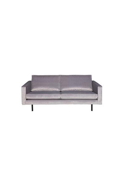 Velvet 2,5-zits bank licht grijs