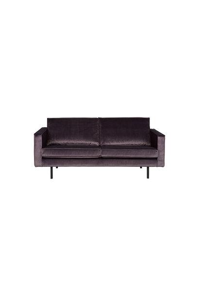 Velvet 2,5-zits bank donker grijs
