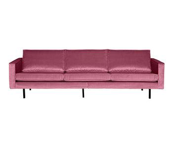 ZENZ 3-Zits bank velvet pink