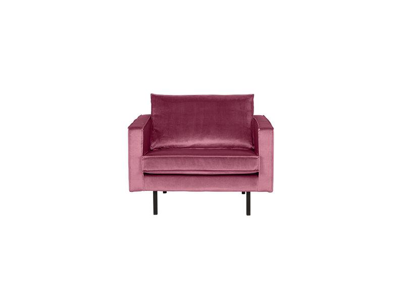 ZENZ fauteuil velvet pink