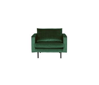 ZENZ fauteuil velvet forest green