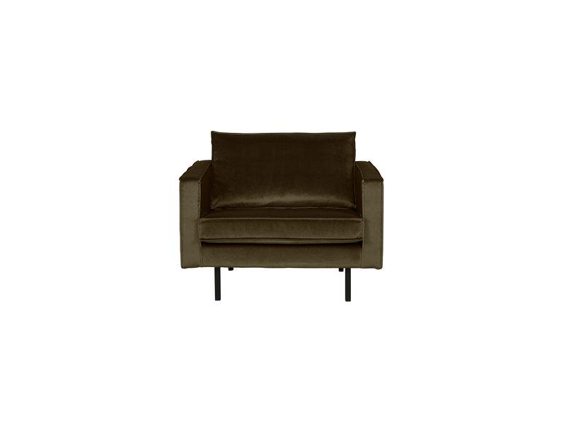 ZENZ fauteuil velvet dark green
