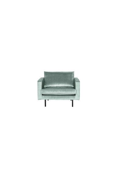 fauteuil velvet mint