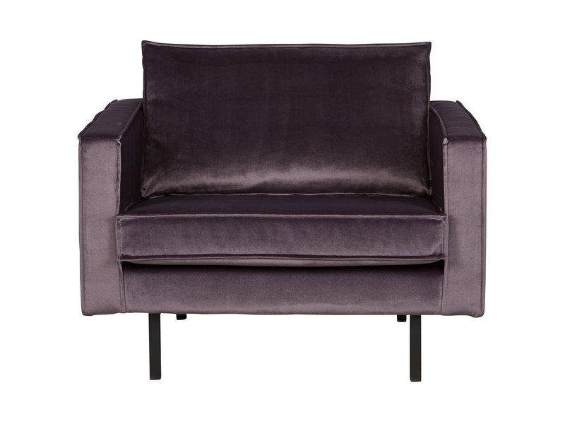 ZENZ fauteuil velvet donker grijs