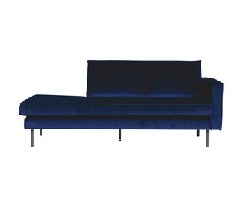 ZENZ Velvet chaise longue rechts night blue