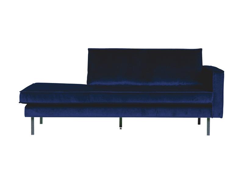 ZENZ Velvet chaise longue rechts night blue