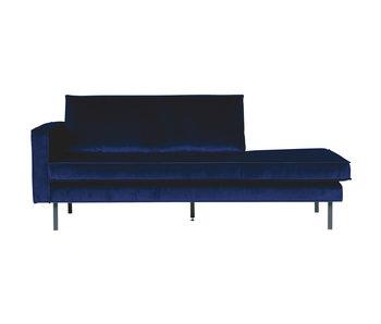 ZENZ Velvet chaise longue links night blue