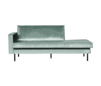 ZENZ Velvet chaise longue links mint