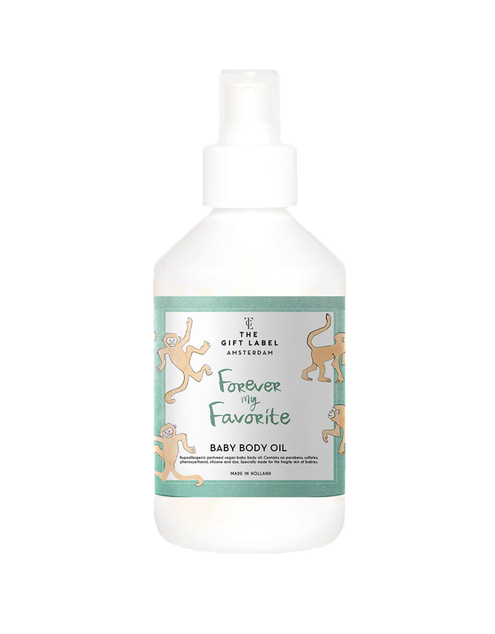 The Gift Label Baby Body oil