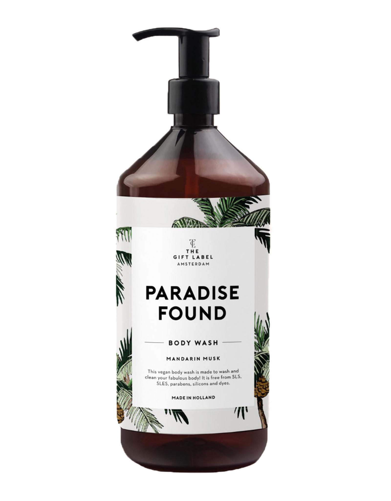 The Gift Label Body wash - Mandarin musk