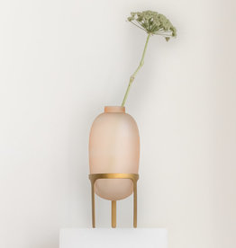 Urban Nature Culture Vase on foot pink