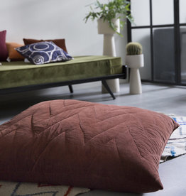 Urban Nature Culture Floor cushion vintage velvet