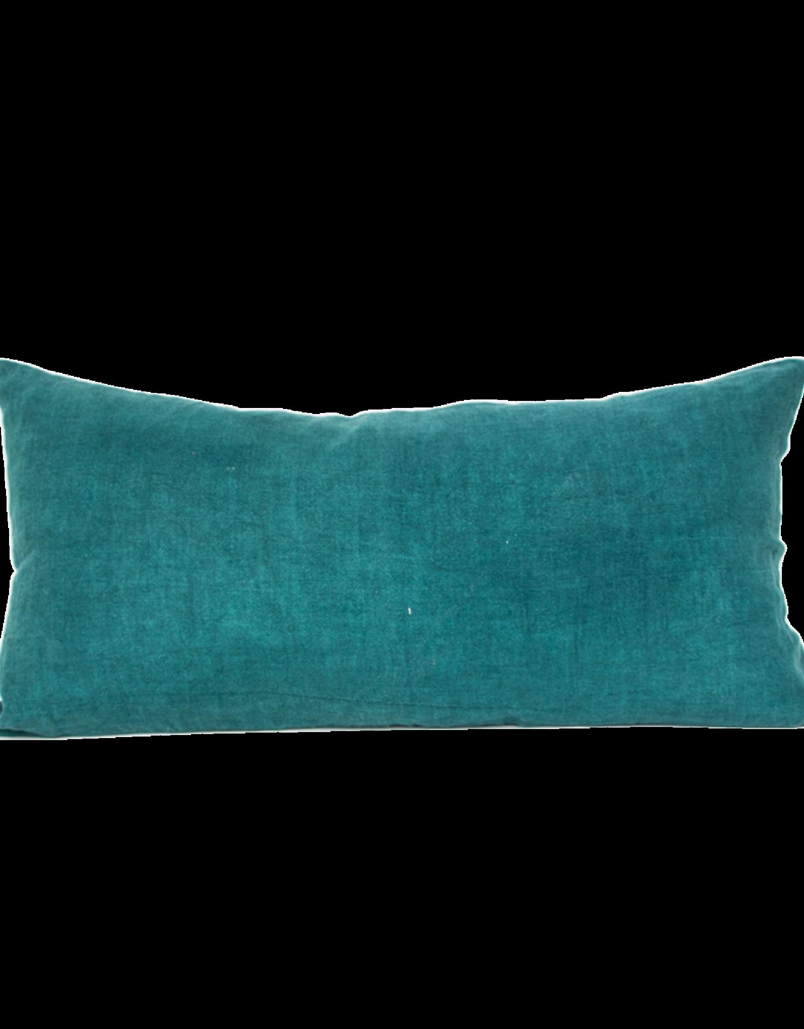 Urban Nature Culture Cushion linen Comporta aqua