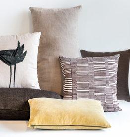 Urban Nature Culture Cushion Jute slate black, 80 * 40 cm