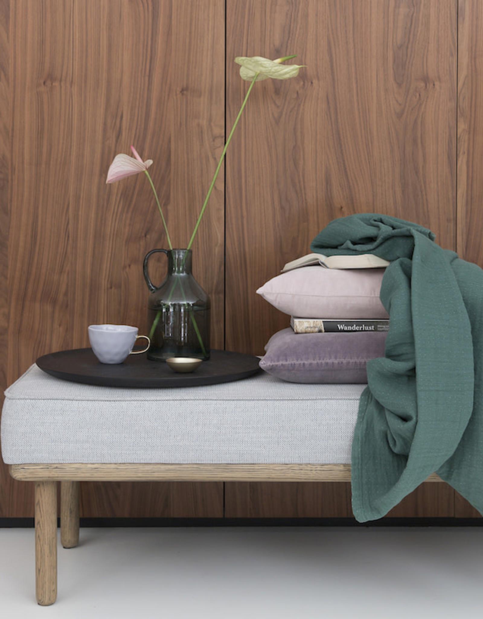 Urban Nature Culture Cushion linen Comporta purple ash