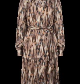 Dante6 Arlette aztec print midi dress