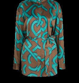 Dante6 Malai logo print blouse