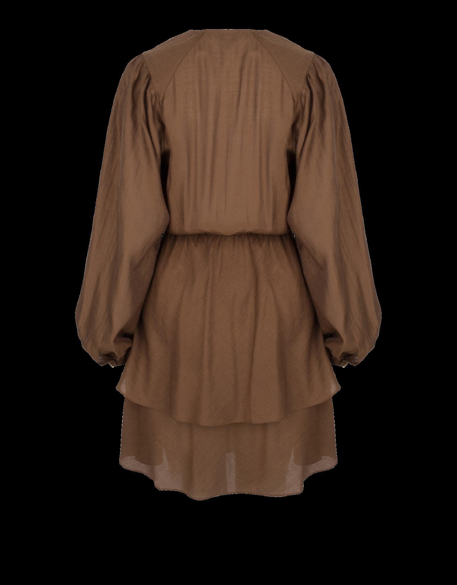 Dante6 Victorine wrap dress