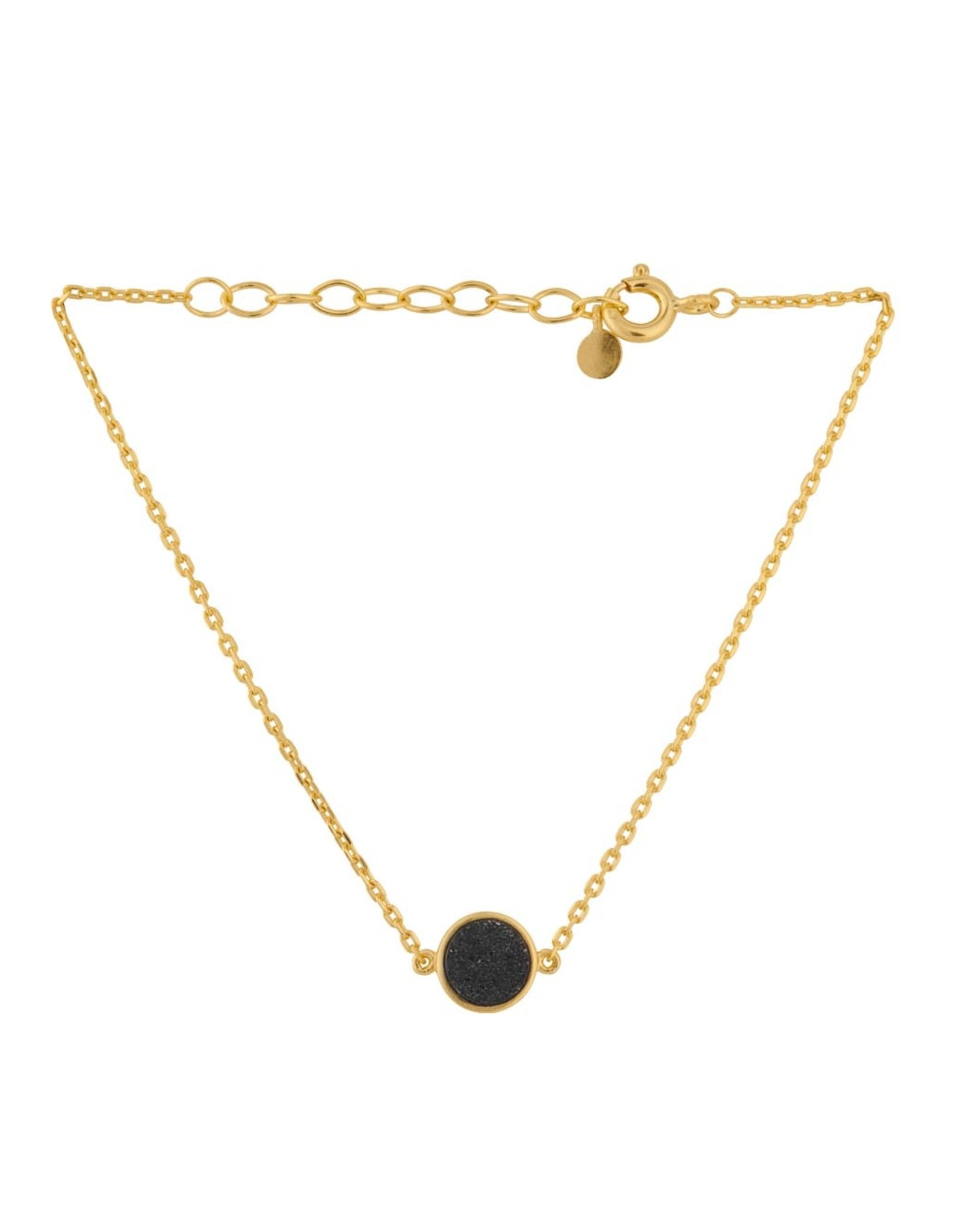 Pernille Corydon Ash Bracelet Black Druzy