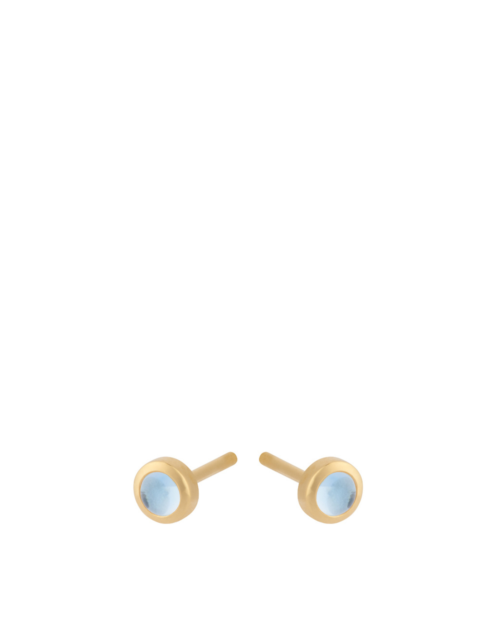 Pernille Corydon Shine Blue Earsticks, topaz