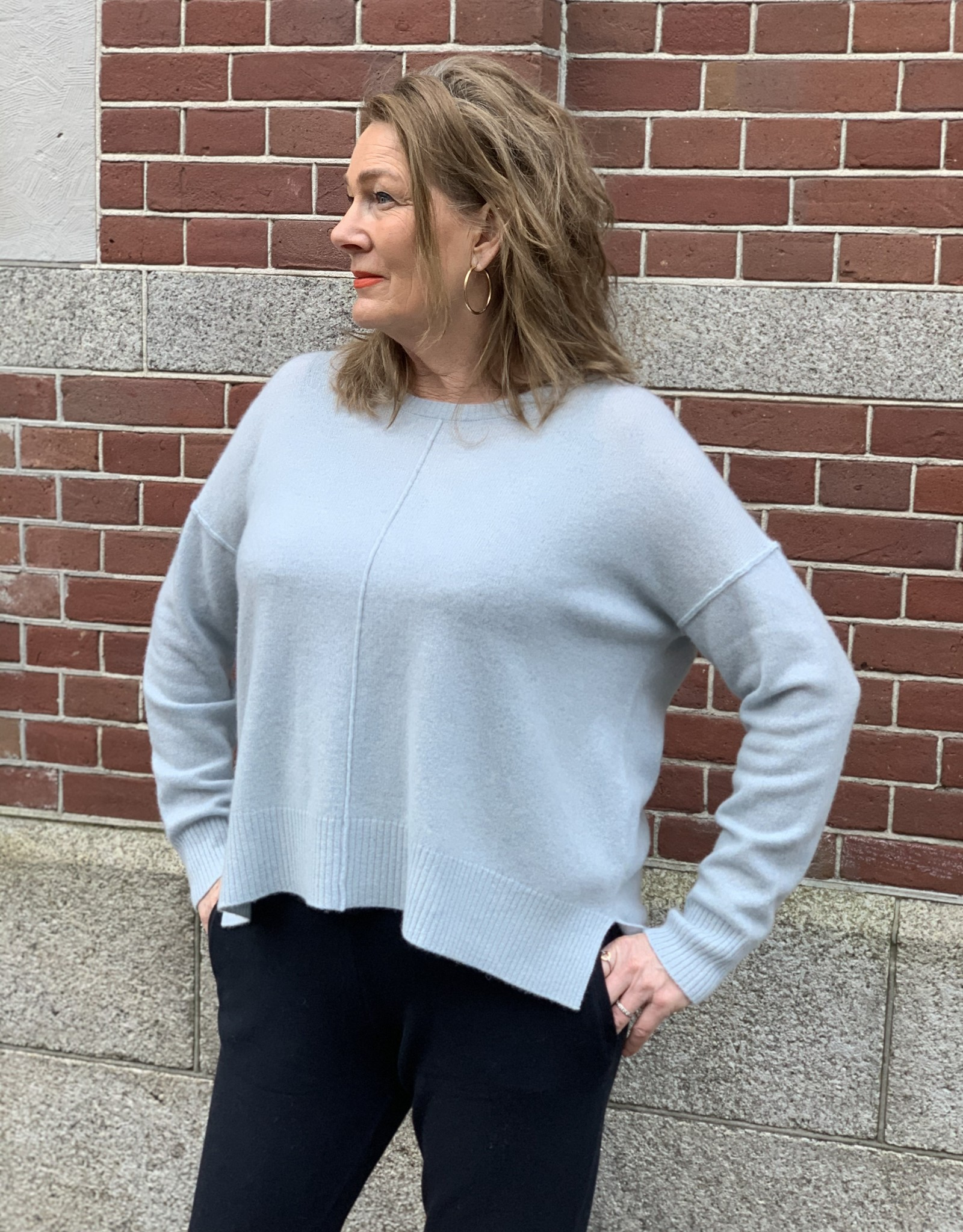 Absolut Cashmere KENZA PULL C.RD ML MAXI OVERS EXTERN