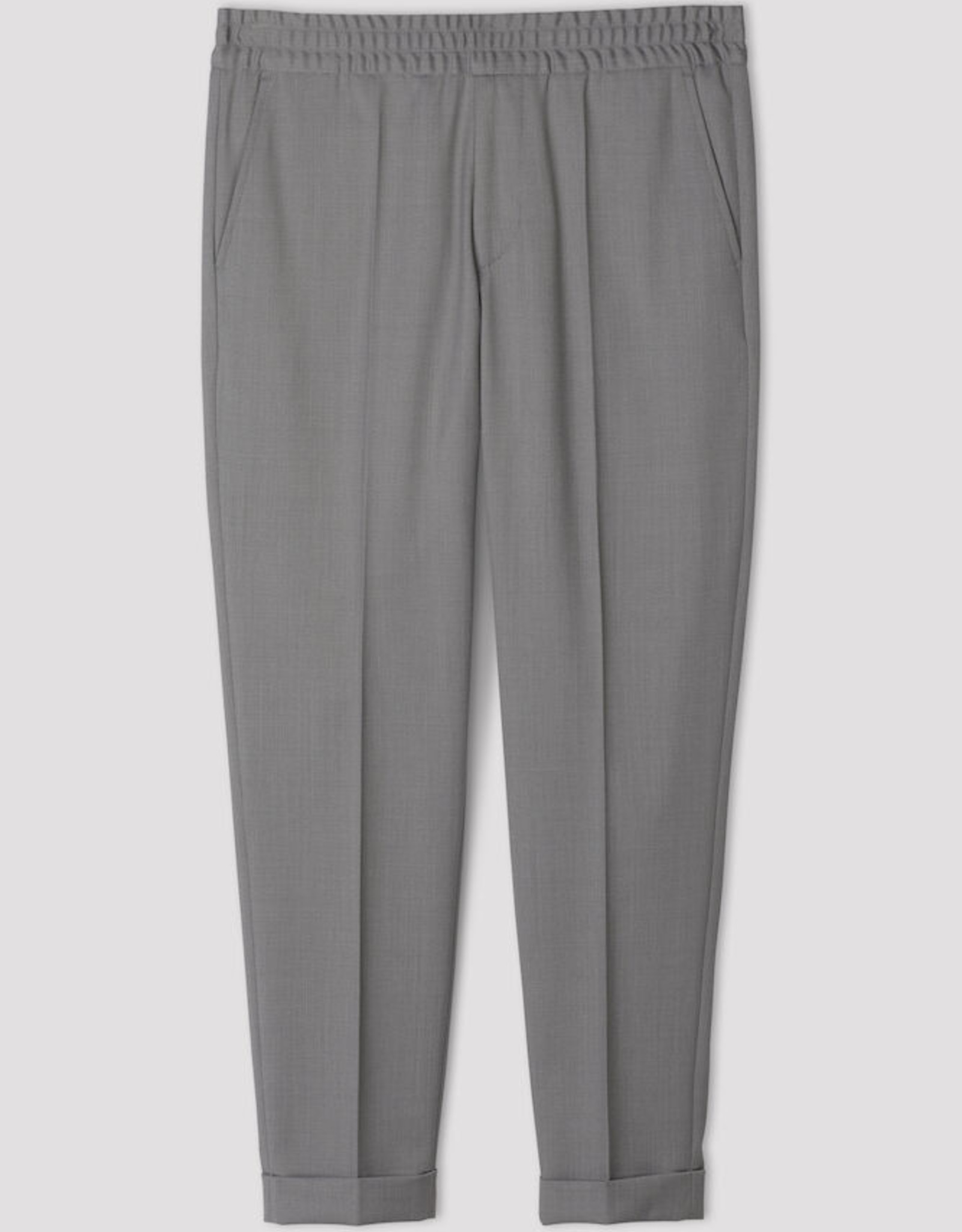 Filippa K M. Terry Cropped Trouser Mid Grey
