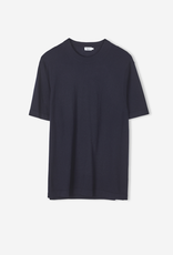 Filippa K M. Knitted T-shirt Navy