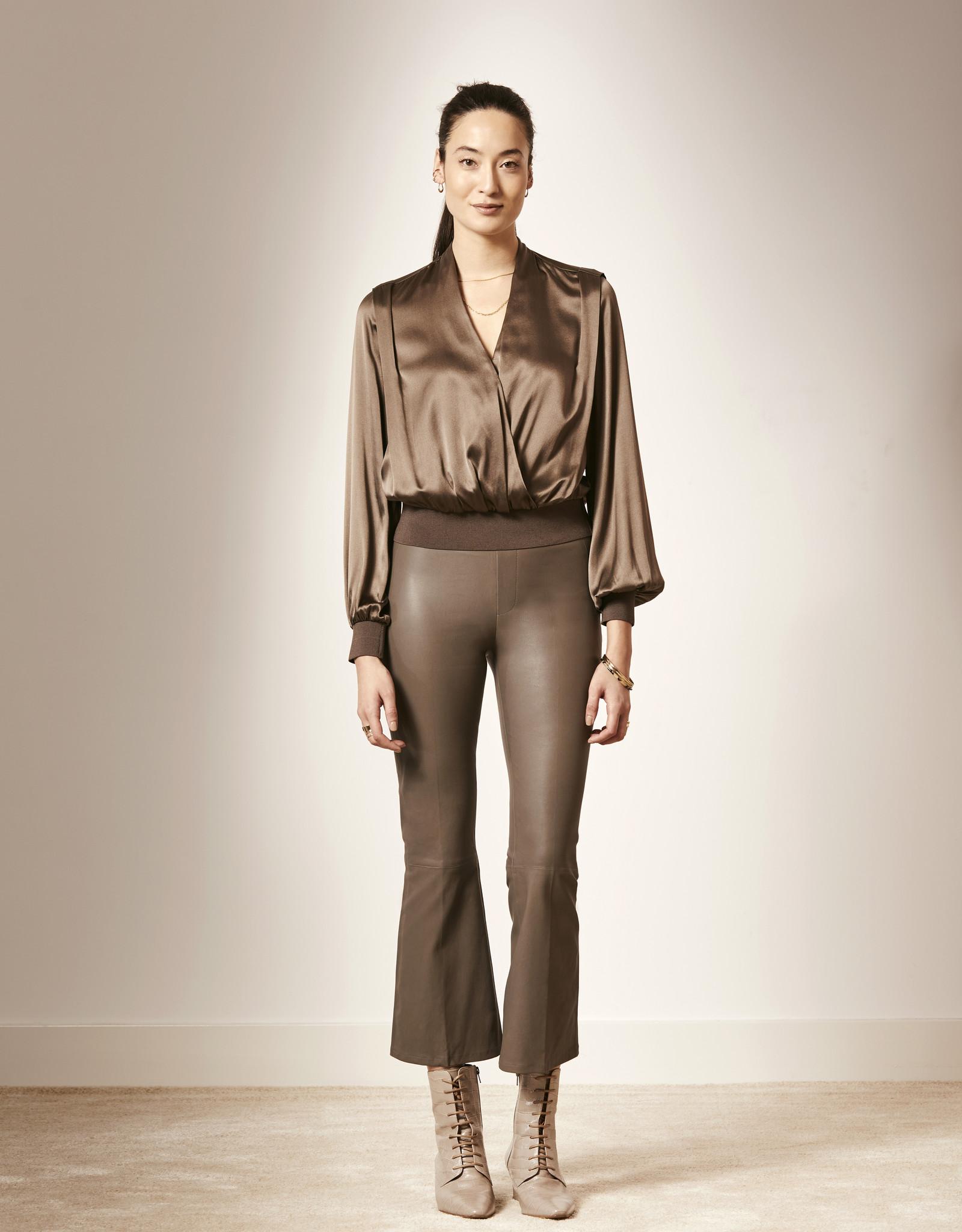 Dante6 Davis silk stretch blouse