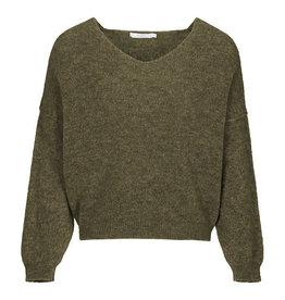By-bar sofie pullover khaki