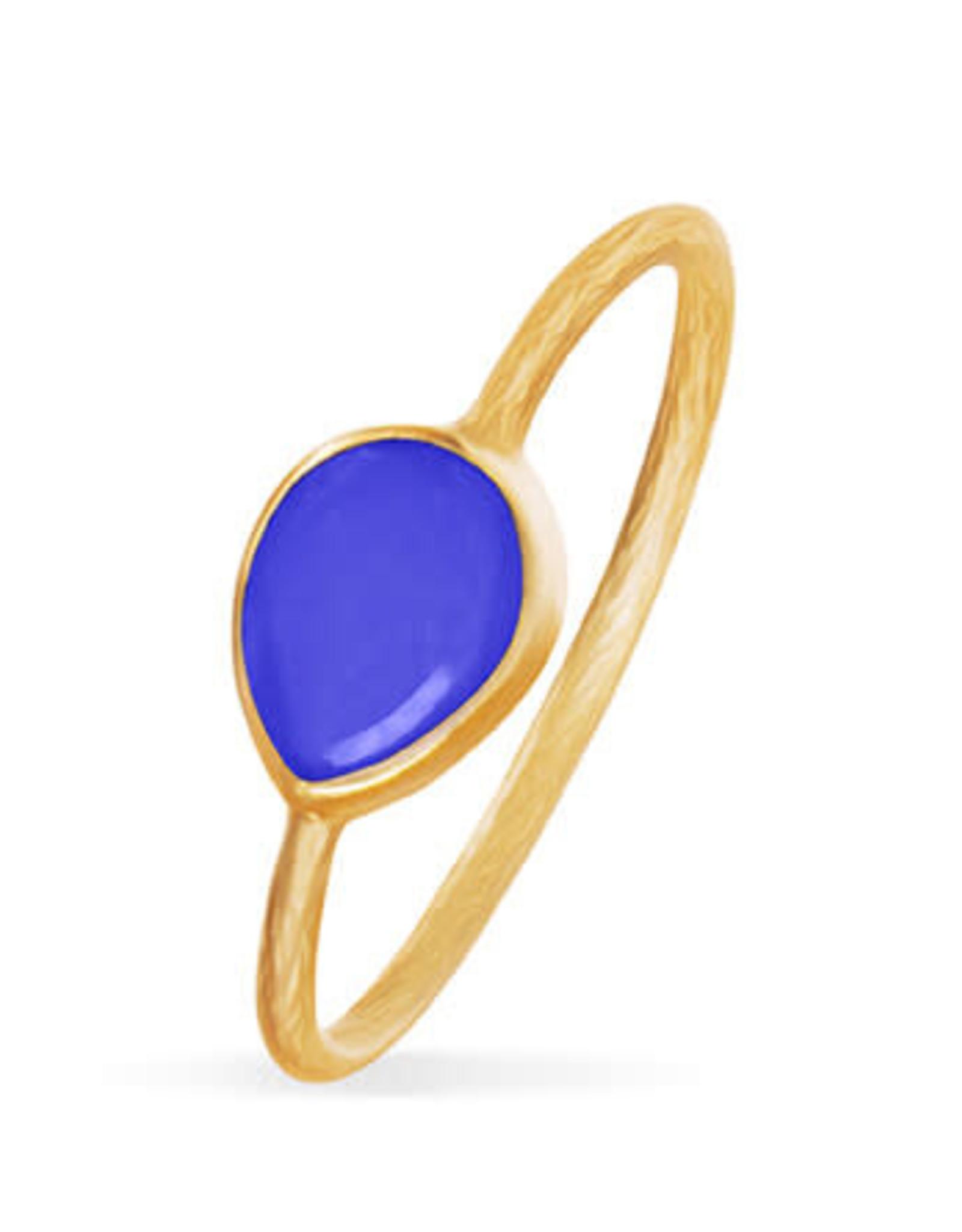 By-bar PD MINIMAL RING BLUE
