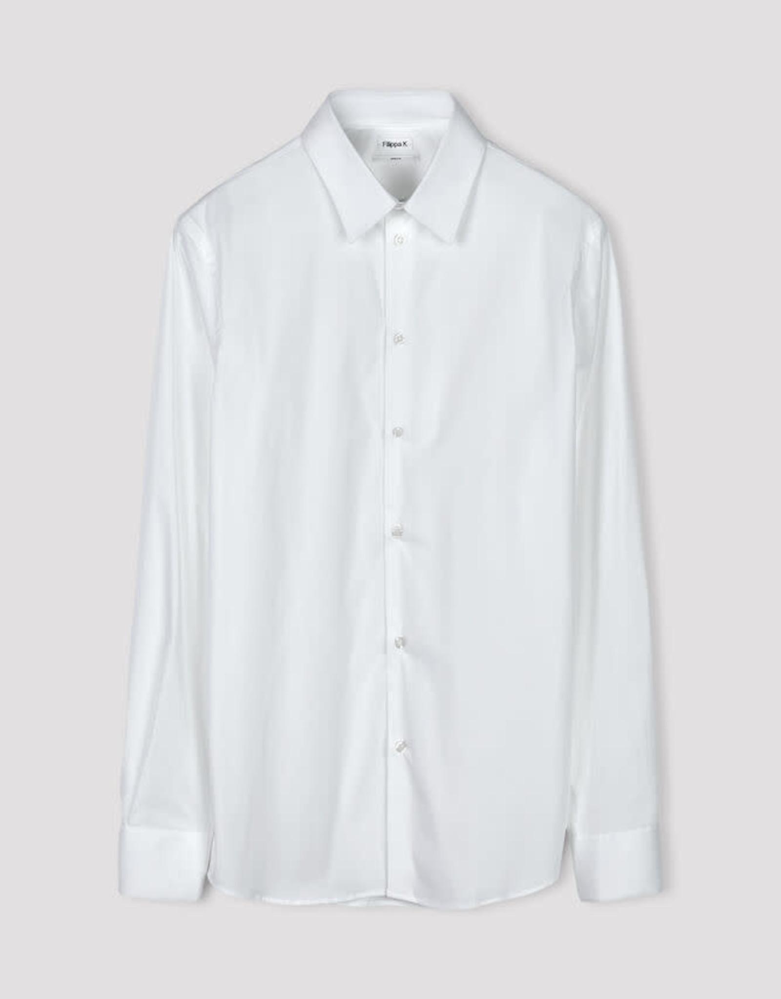 Filippa K M. James Stretch Shirt White