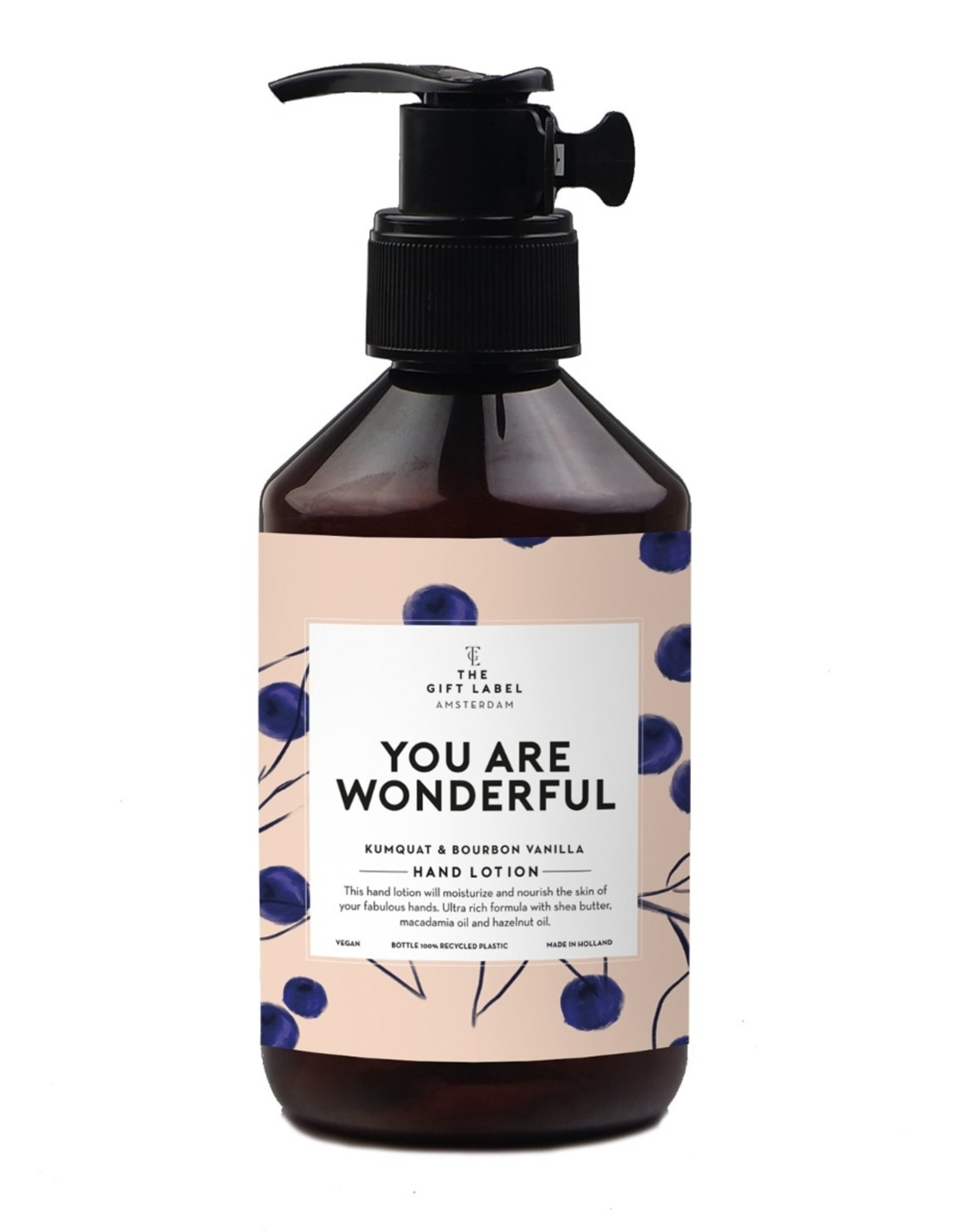 The Gift Label Hand lotion you are wonderful 250ml