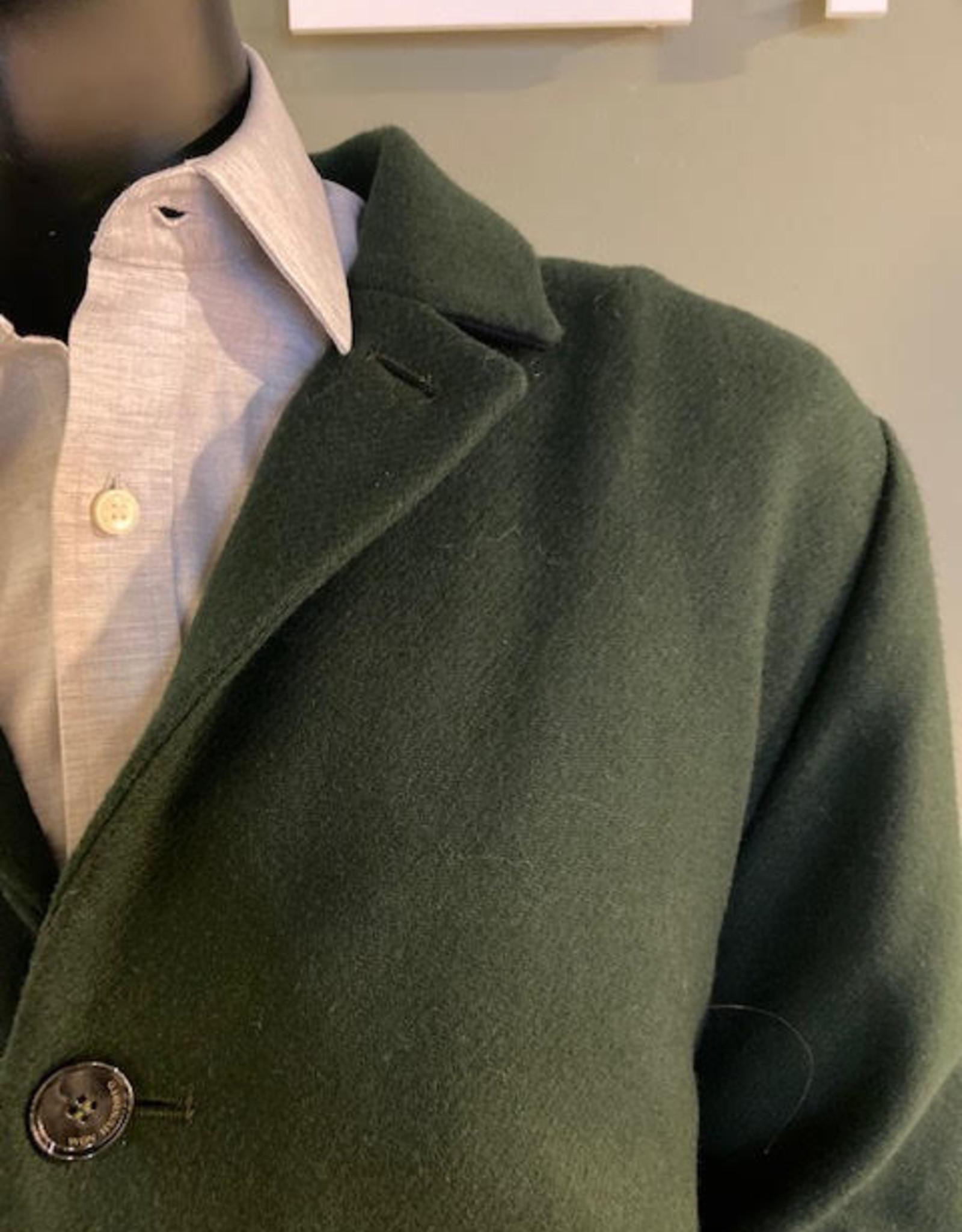 Won hundred Julius Coat forrest green