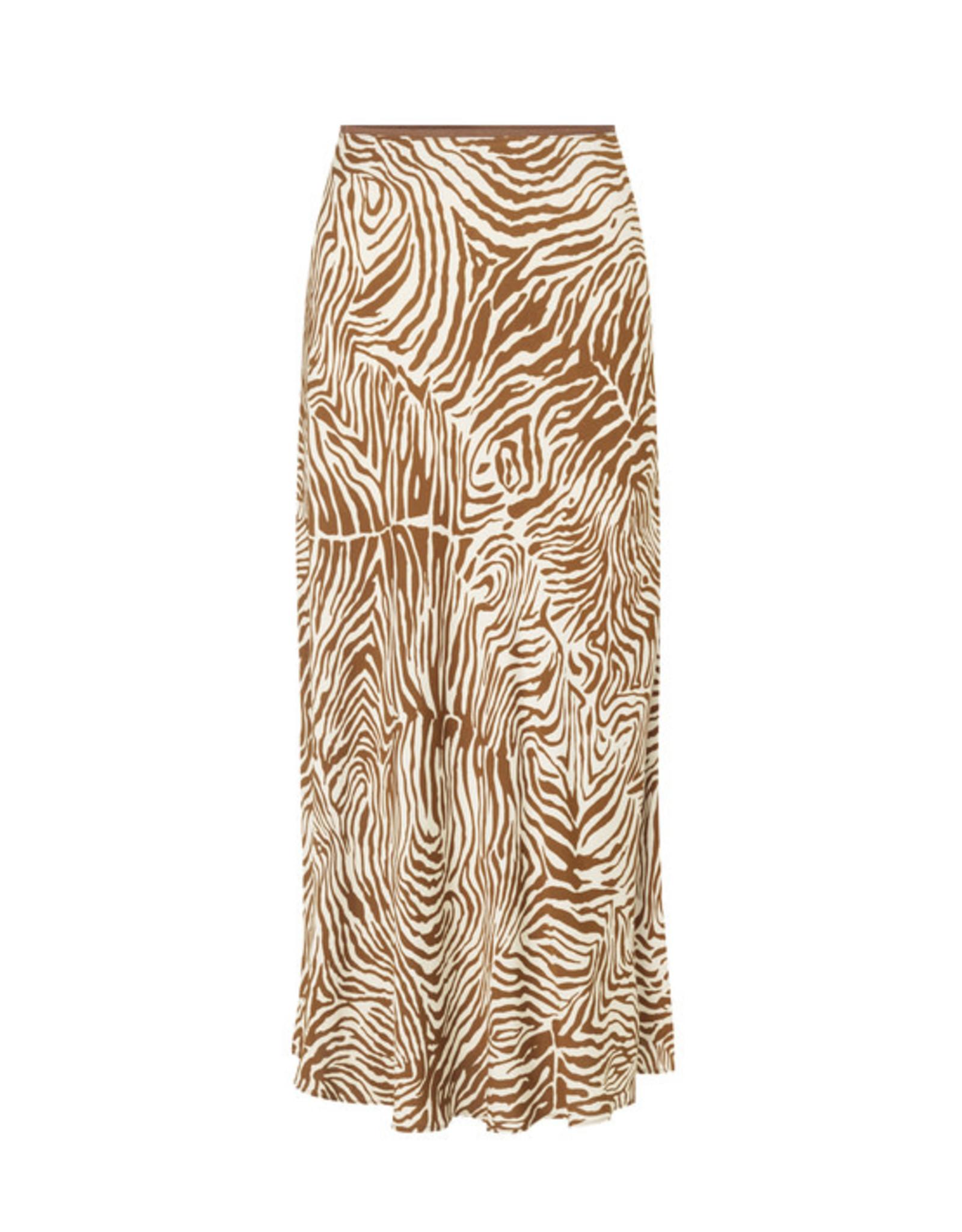 Samsoe & Samsoe Alsop skirt aop Mountain zebra