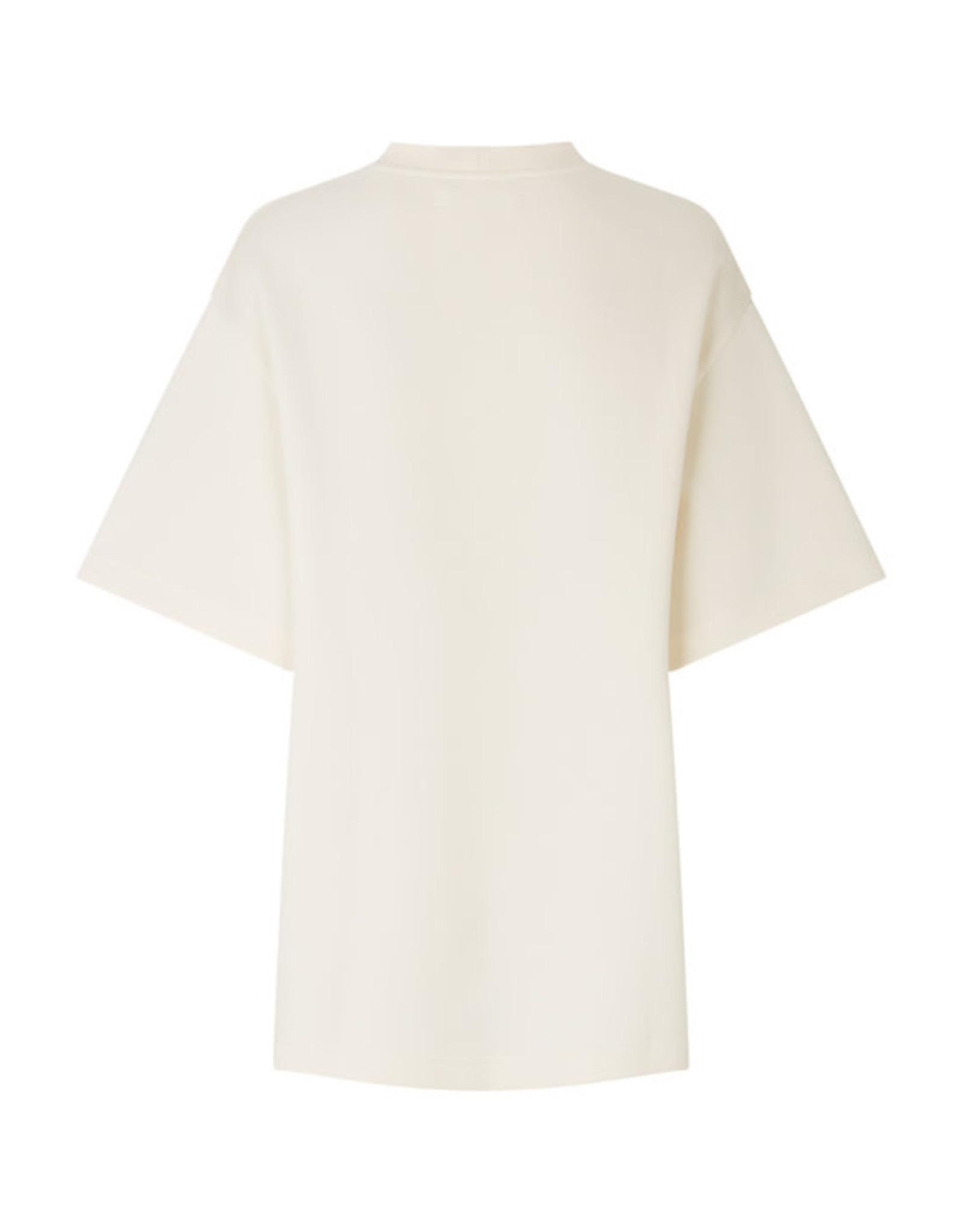 Samsoe Samsoe Lionelle t-shirt Eggnog