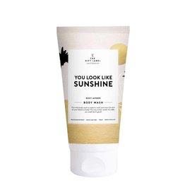 The Gift Label Body Wash 150 ml - You look  like sunshine - High summer