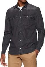 Steffen Shirt washed black